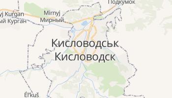 Кисловодськ - детальна мапа