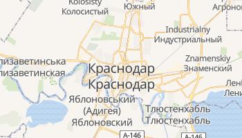 Краснодар - детальна мапа