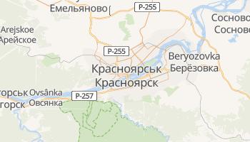 Красноярськ - детальна мапа