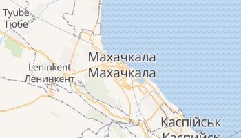 Махачкала - детальна мапа
