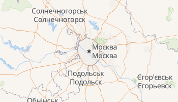 Москва - детальна мапа