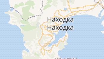 Находка - детальна мапа