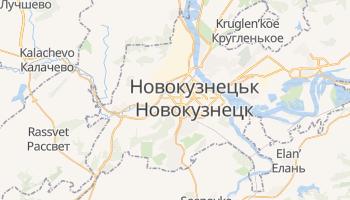 Новокузнецьк - детальна мапа