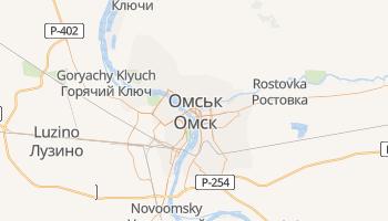Омськ - детальна мапа