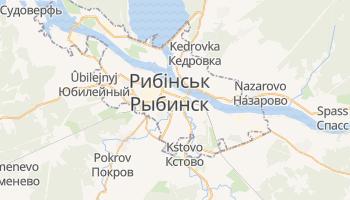 Рибінськ - детальна мапа