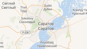Саратов - детальна мапа