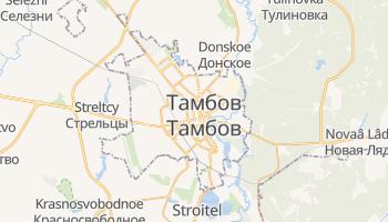 Тамбов - детальна мапа