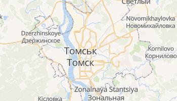 Томськ - детальна мапа
