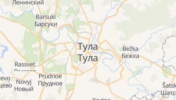 Тула - детальна мапа
