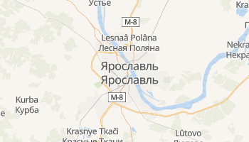 Ярославль - детальна мапа