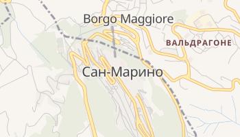 Сан-Маріно - детальна мапа