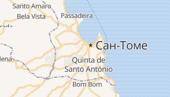 Сан-Томе - детальна мапа