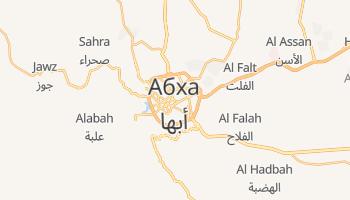 Абха - детальна мапа