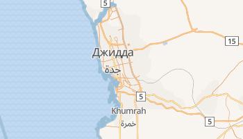 Джидда - детальна мапа