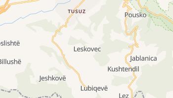 Лесковац - детальна мапа