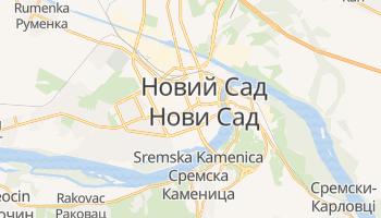 Новий Сад - детальна мапа