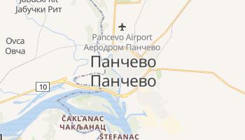 Панчево - детальна мапа