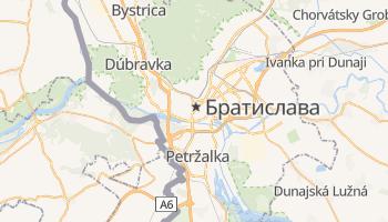 Братіслава - детальна мапа