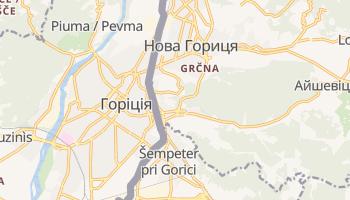 Горіція - детальна мапа