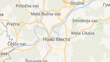 Ново Место - детальна мапа