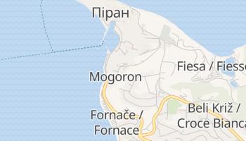 Піран - детальна мапа