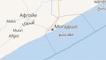 Могадішу - детальна мапа