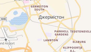 Джермістон - детальна мапа