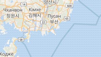 Бусан - детальна мапа