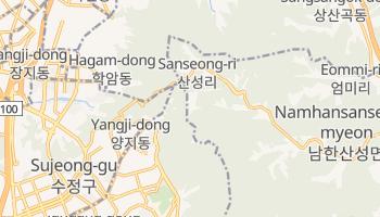 Кванджу - детальна мапа