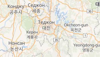 Теджон - детальна мапа
