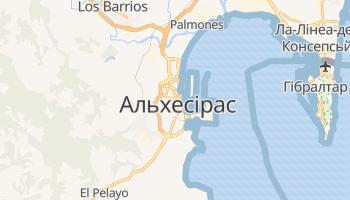Альхесірас - детальна мапа