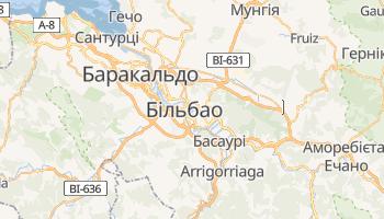 Більбао - детальна мапа