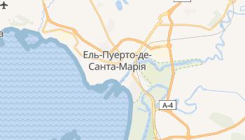 Ель-Пуерто-де-Санта-Марія - детальна мапа