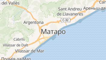 Матаро - детальна мапа