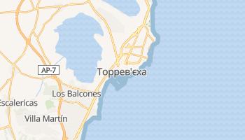 Торревєха - детальна мапа