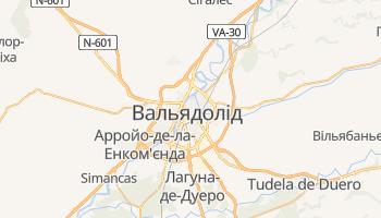 Вальядолід - детальна мапа