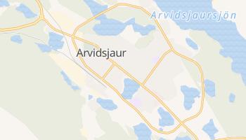 Арвідсьяур - детальна мапа