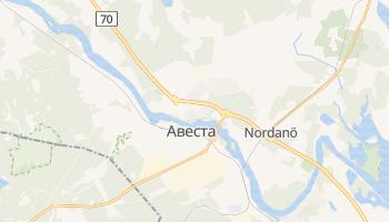 Авеста - детальна мапа