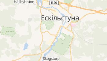 Ескільстуна - детальна мапа