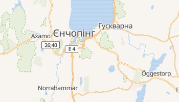 Єнчепінг - детальна мапа