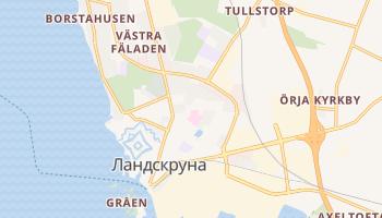 Ландскруна - детальна мапа