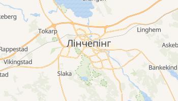 Лінчепінг - детальна мапа