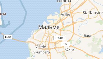 Мальме - детальна мапа