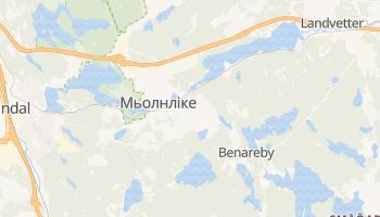 Мельнлике - детальна мапа