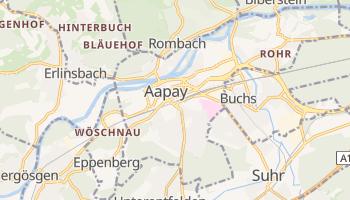 Аарау - детальна мапа