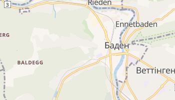 Баден - детальна мапа