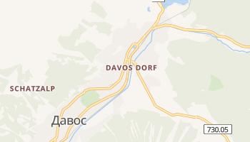 Давос - детальна мапа