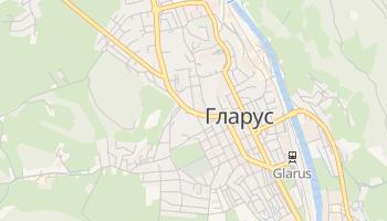 Гларус - детальна мапа