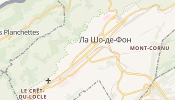 Ла Шо-де-Фон - детальна мапа