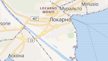 Локарно - детальна мапа